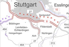 Bild: Bundesverkehrswegeplan (Ausschnitt)